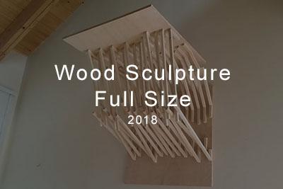 wood sculpture full size 2018