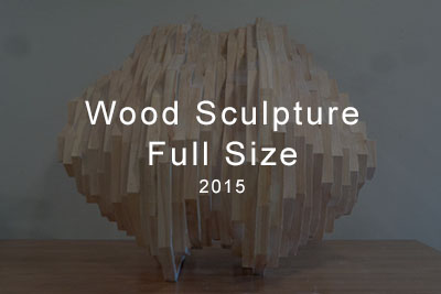 wood sculpture full size 2015