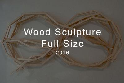 wood sculpture full size 2016