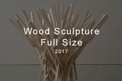 wood sculpture full size 2017